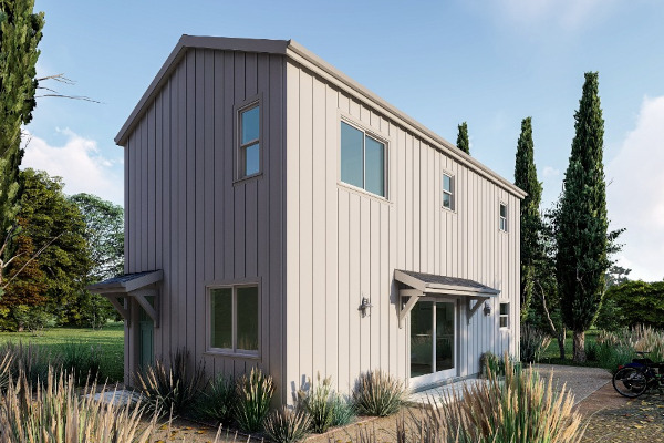 Modern Farmhouse Accessory Dwelling Unit Plan