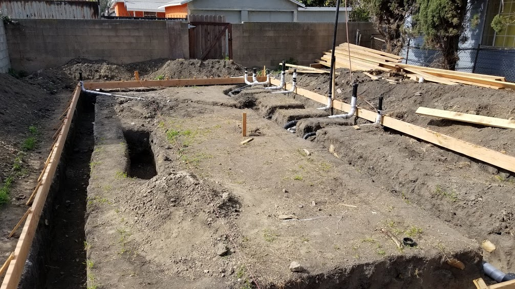 Foundation Footings and Forms For Our New ADU in Los Angeles