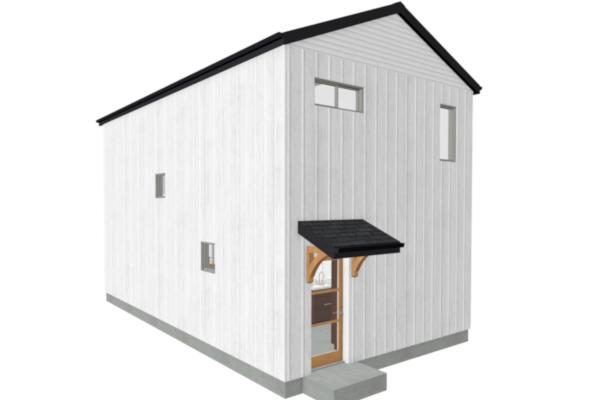 Farmhouse ADU design and building plans