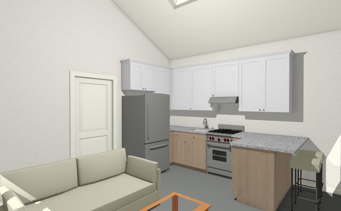 Modern ADU Interior Photo