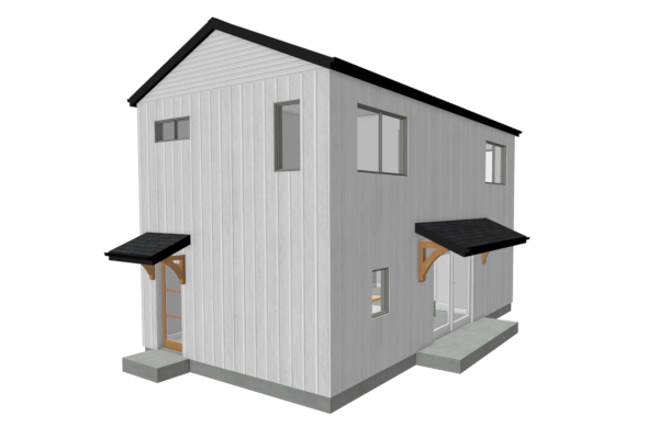 Modern Farmhouse Accessory Dwelling Unit Plan