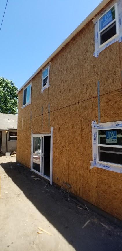 Window and Door Install in ADU