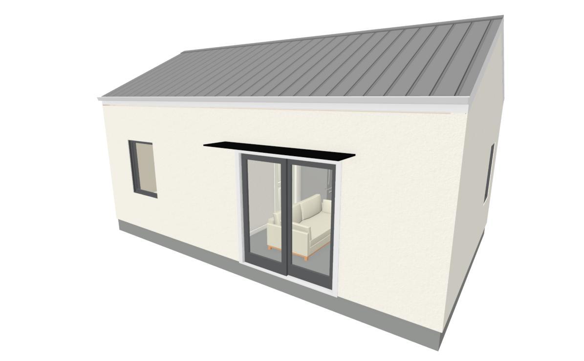 Modern Tiny House Accessory Dwelling Unit Plan