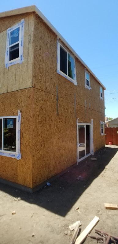 ADU Window and Door Installation Complete